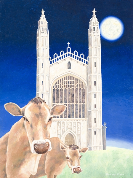 Kings College Cows